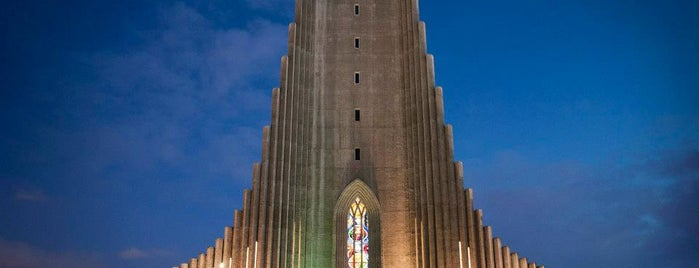 Hallgrímskirkja is one of Iceland ❄️.