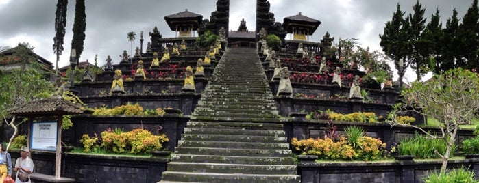 Pura Besakih (Mother Temple of Besakih) is one of Temples and statues in Indonesia.