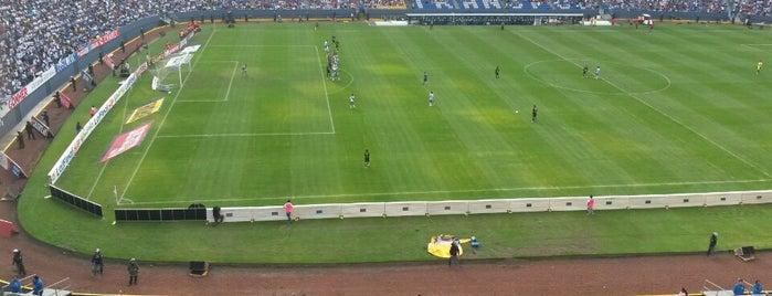 Estadio Cuauhtémoc is one of Eder: сохраненные места.