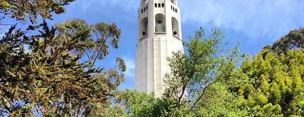 Coit Tower is one of San Fran December Adventures.