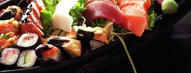 Taki Sushi is one of Tempat yang Disukai Sidney.