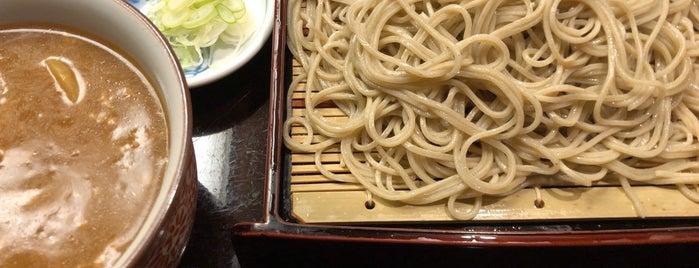 赤坂見附 長寿庵 is one of Lieux sauvegardés par Hide.