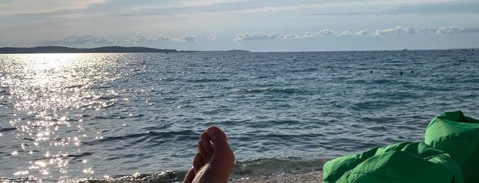 Beach Bar Baza is one of Pula & Fort Punta Christo, Croatia.