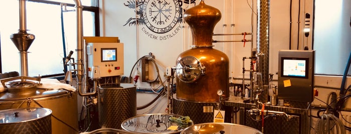 Eimverk Distillery is one of Iceland.