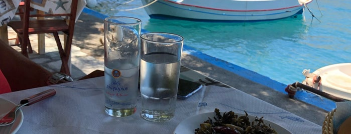 Taverna Delfini is one of Greece Islands.