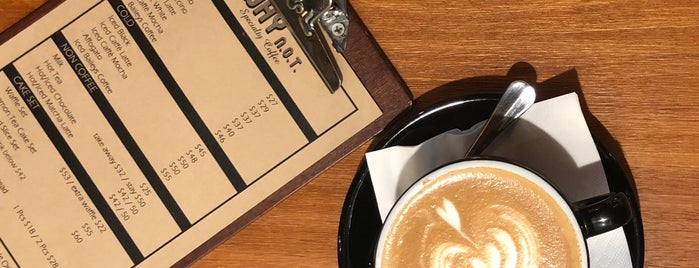 WHY N.O.T. Specialty Coffee is one of Hk cf.