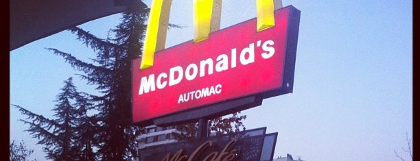 McDonald's is one of Restaurants.