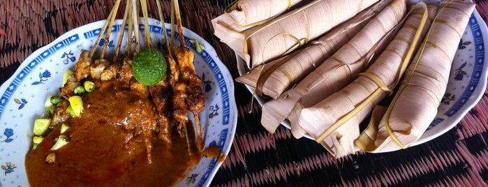 Sate Bulayak Suranadi is one of Lombok.