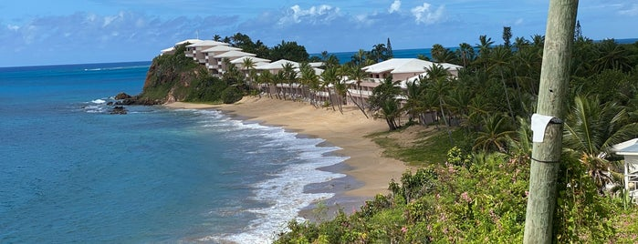 Curtain Bluff is one of November Expedition.