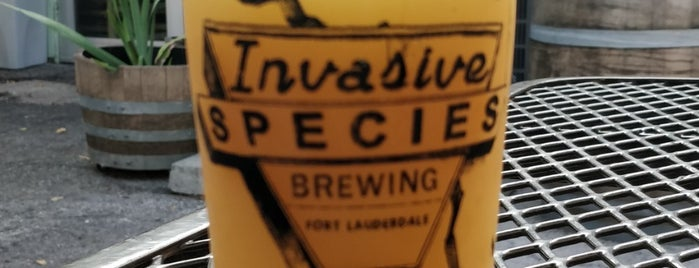 Invasive Species Brewing is one of ForLahdahdale.