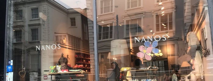 Nanos is one of London Beebee Shops.
