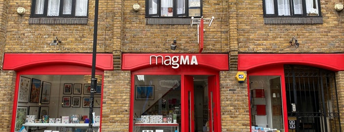 Magma is one of London.