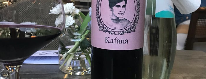 Kafana is one of 2017 recommendations (Berlin).