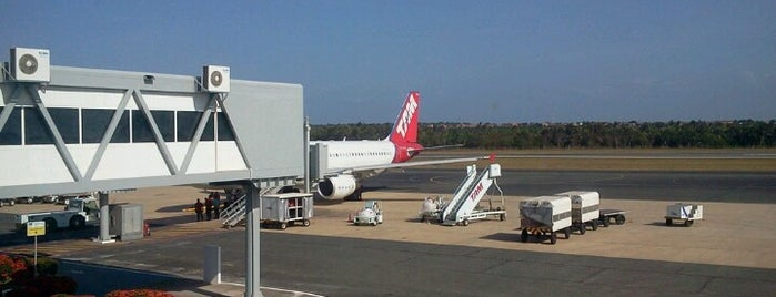 Aeroporto Internacional de São Luís / Marechal Cunha Machado (SLZ) is one of MA.