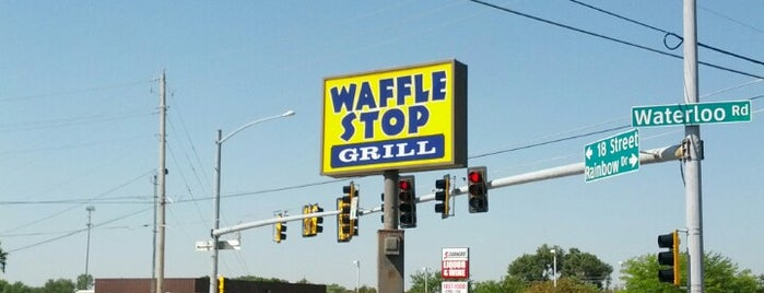 Waffle Stop Grill is one of Yum!.