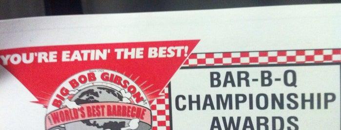 Big Bob Gibson's BBQ is one of Huntsville.