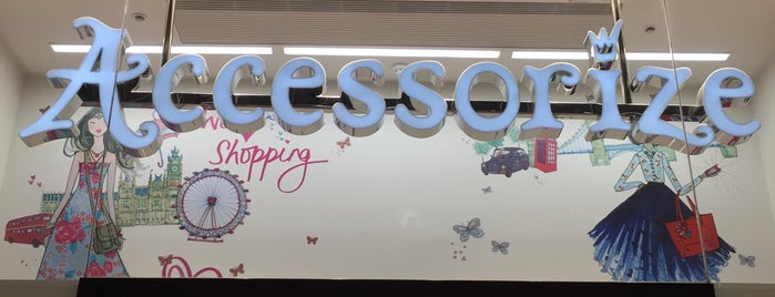 Accessorize is one of London shopping..