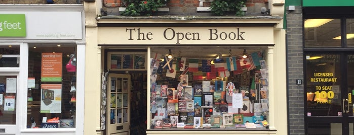 The Open Book is one of Bookstores - International.