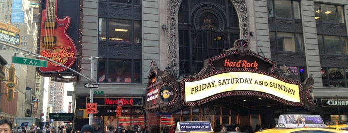 Hard Rock Cafe is one of If I ever go back to New York.