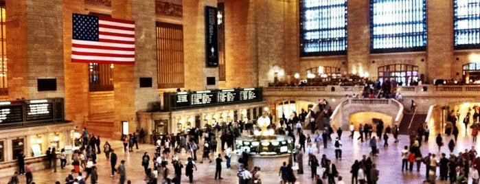Grand Central Terminal is one of New York, NY.