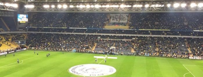 Ülker Stadyumu Fenerbahçe Şükrü Saracoğlu Spor Kompleksi is one of Posti che sono piaciuti a Ferhat.