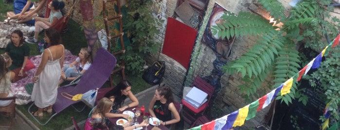 Squat 17b yard cafe is one of Kyiv Bars, Clubs & Restaurants.