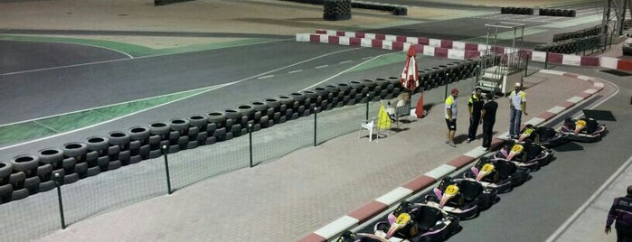 Bahrain International Karting Circuit is one of Bahrain Trip.