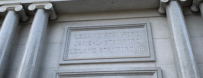 Stanford Mausoleum is one of San Francisco.