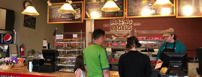 Blazing Bagels is one of สถานที่ที่ Kate ถูกใจ.