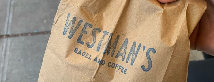 Westman's Bagel and Coffee is one of Seattle.