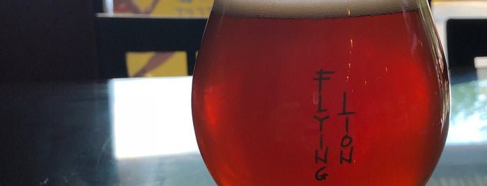 Flying Lion Brewing is one of Seattle To-Do's.