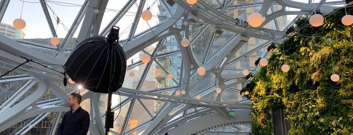 Amazon - The Spheres is one of Cusp25'un Beğendiği Mekanlar.