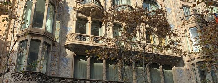 Casa Thomas is one of Barcelona | Cultura e Arquitetura.