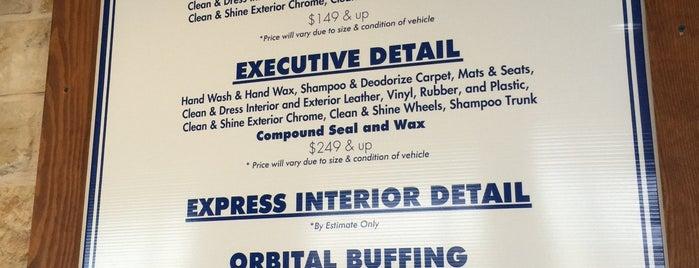 H2O Hand Car Wash & Detail is one of สถานที่ที่ Aaron ถูกใจ.