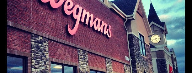 Wegmans is one of Orte, die Amanda gefallen.