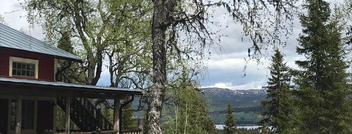 Tännforsens Turiststation is one of Lugares favoritos de Olof.