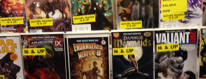 A Little Shop of Comics is one of Nerd Checklist.