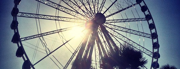 Myrtle Beach SkyWheel is one of Lieux sauvegardés par Joshua.