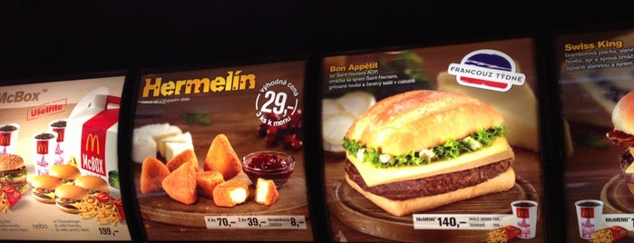 McDonald's is one of Places where I've eaten in CZ (Part 3 of 6).
