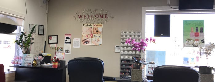 Passion Nails And Spa is one of Tempat yang Disukai Stacy.