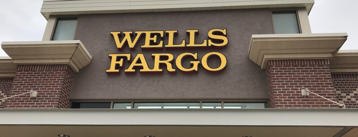 Wells Fargo is one of Marie's Liked Places.