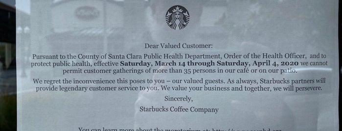 Starbucks is one of Lieux qui ont plu à Mark.