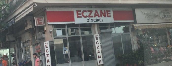 Zincirci Eczanesi is one of สถานที่ที่บันทึกไว้ของ Özgür Yaşar.