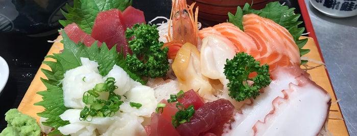 まぐろ亭 is one of Posti che sono piaciuti a Shigeo.