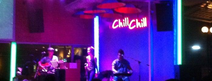 Chill Chill@แยกเหม่งจ๋าย is one of สถานที่ที่ JOY ถูกใจ.