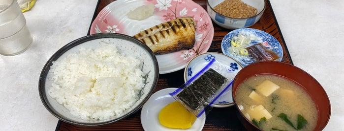 定食ハウス やなぎや is one of Hide: сохраненные места.