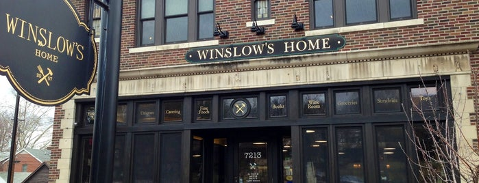 Winslow's Home is one of Date night.