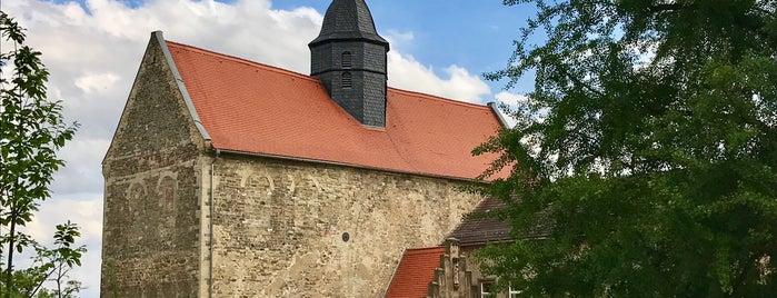 Schloss Goseck is one of Ostern.