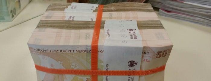 Türkiye İş Bankası is one of Gespeicherte Orte von Saliha.