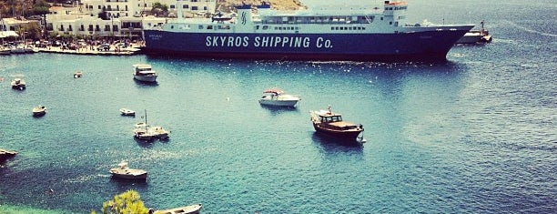 Skyros Port is one of Katerina 님이 좋아한 장소.